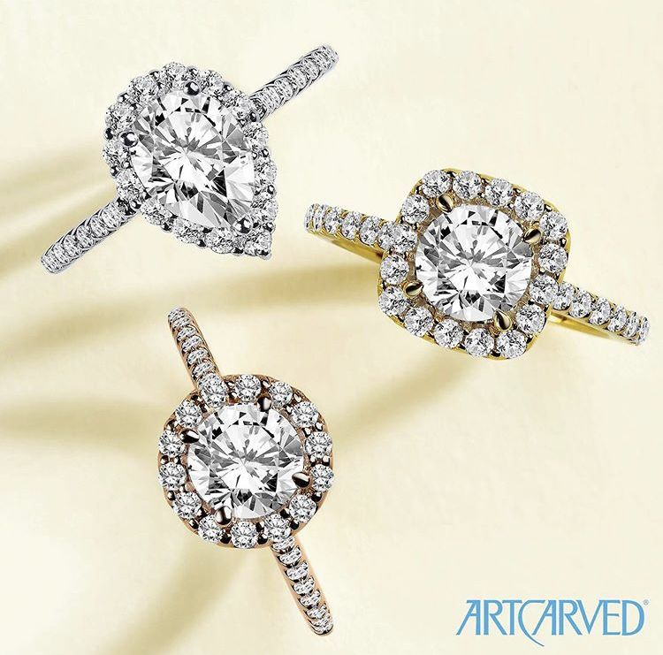 Halo Engagement Rings Fine Jewels Engagement Rings Fashion Rings