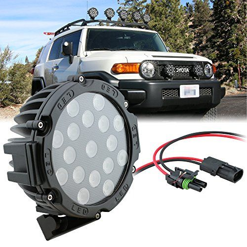 Outdoor Decor Onlineledstore 51w Led Off Road Work Light Lamp Round Flood Spot Variation Available Click Image For More Used Boats Fj Cruiser Work Lights