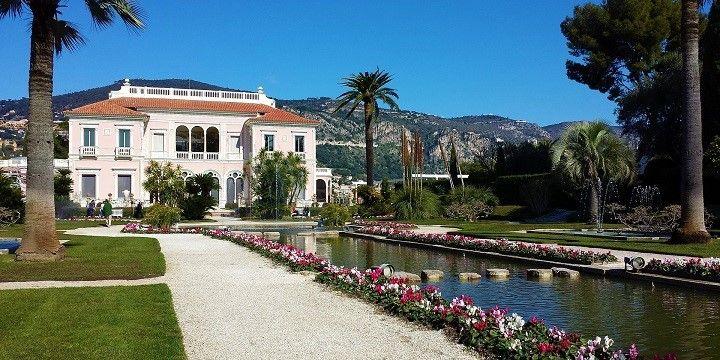 Villa Ephrussi de Rothschild, Saint-Jean-Cap-Ferrat, French Riviera, France, Europe