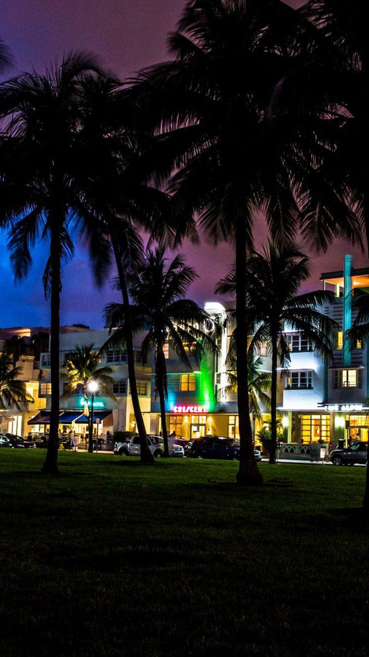 Miami South Beach Night