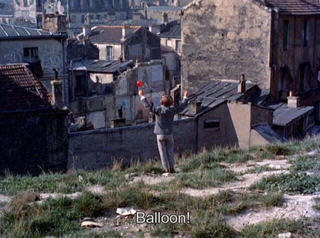 "The Red Balloon (1956) dir. Albert Lamorisse  ""Paris, we love you. Paris, nous t'aimons"""