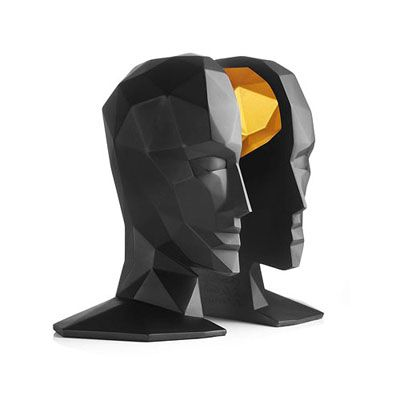 Menu Knowledge Brain Bookends | MetropolitanDecor.com
