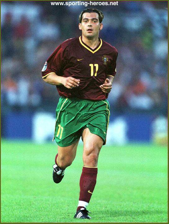 Sergio Conceicao Uefa Campeonato Do Europa 2000 Inglaterra Romaªnia Alemanha Portugal Sergio Conceicao Futebol Lendas Do Futebol