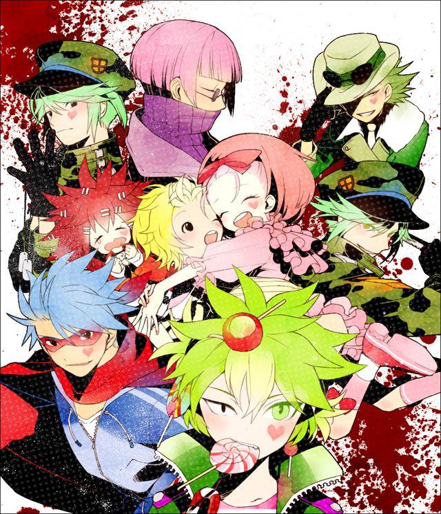 Happy Tree Friends Anime Happy tree friends, Friend
