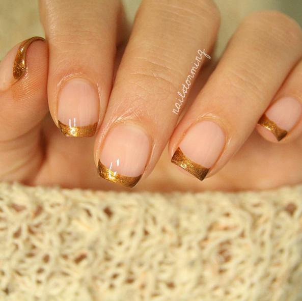 26 November Nail Art Ideas That Are Perfect For Thanksgiving November Nails Elegant Nail Designs Elegant Nails