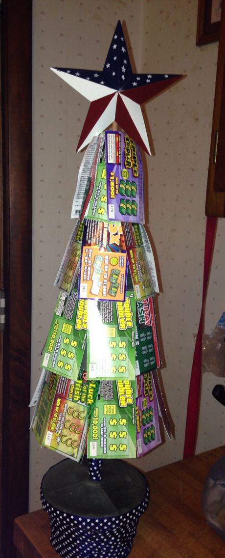 Lottery Ticket Tree Gift Card Tree Lottery Ticket Tree Raffle Baskets