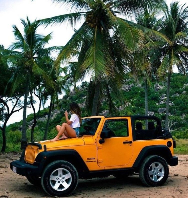 Ideal Traveling Car Jeep Cars Yellow Jeep Dream Cars Jeep