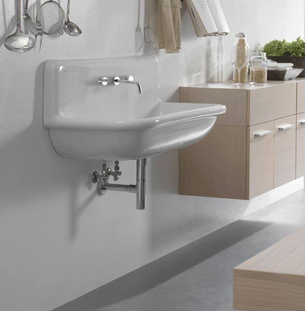 Lacava Alia 24 Bath Sink W Backsplash Utility Sink Sink Laundry Room Sink