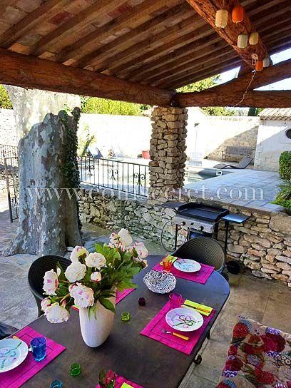 A louer maison vacances en Provence avec piscine, Maussane Les - location vacances provence avec piscine