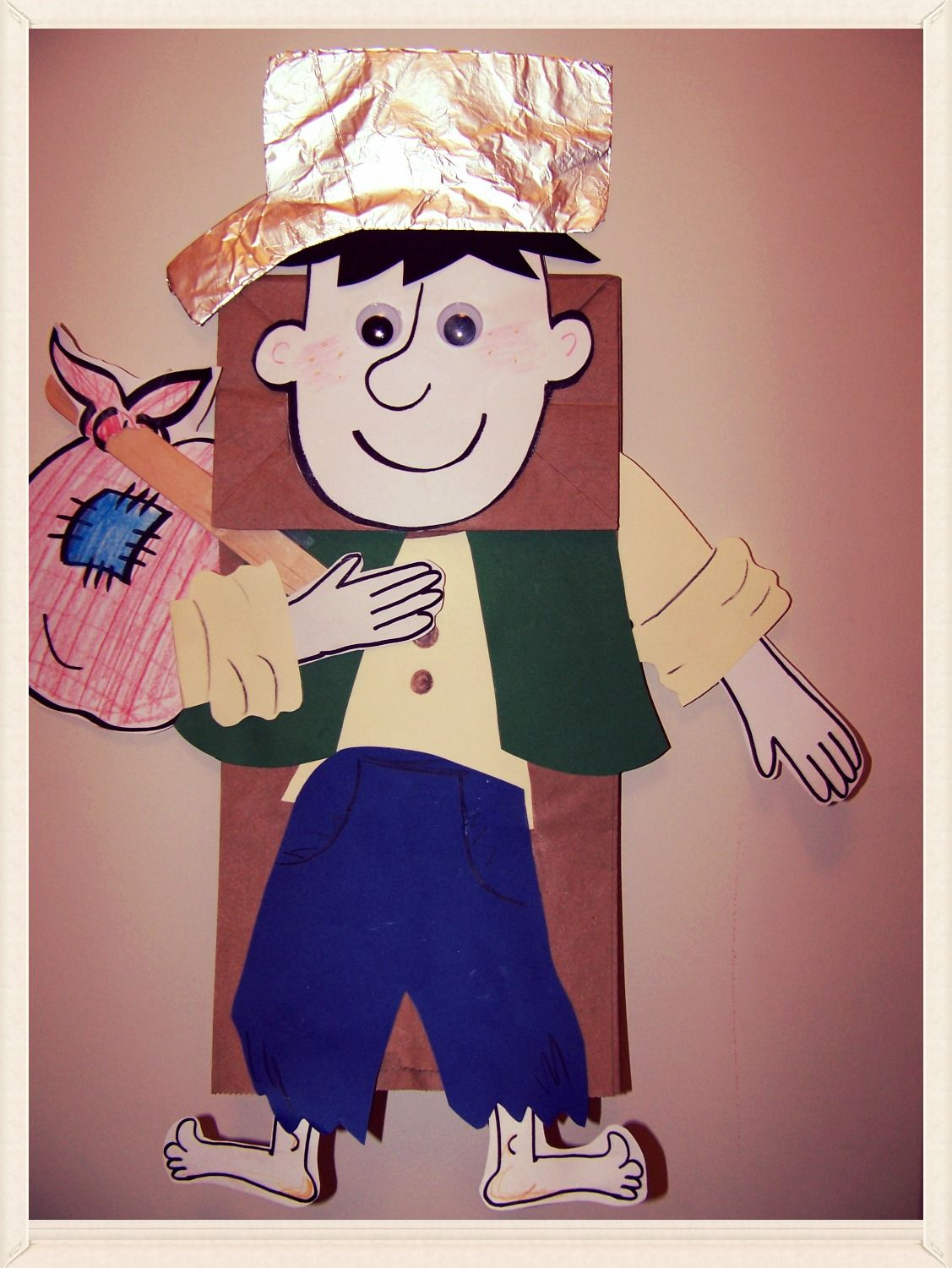 Kidfunideas Johnny Appleseed Craft For Kids