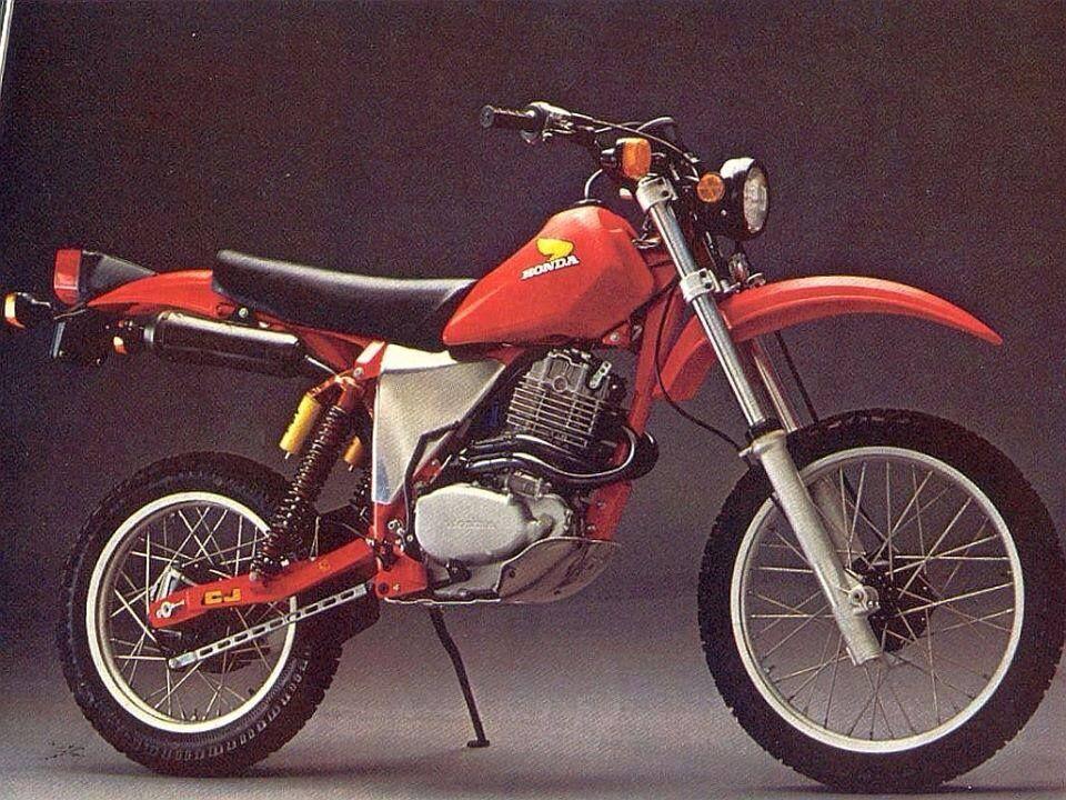 1982 C J Framed Honda Xr600l Street Legal Hybrid