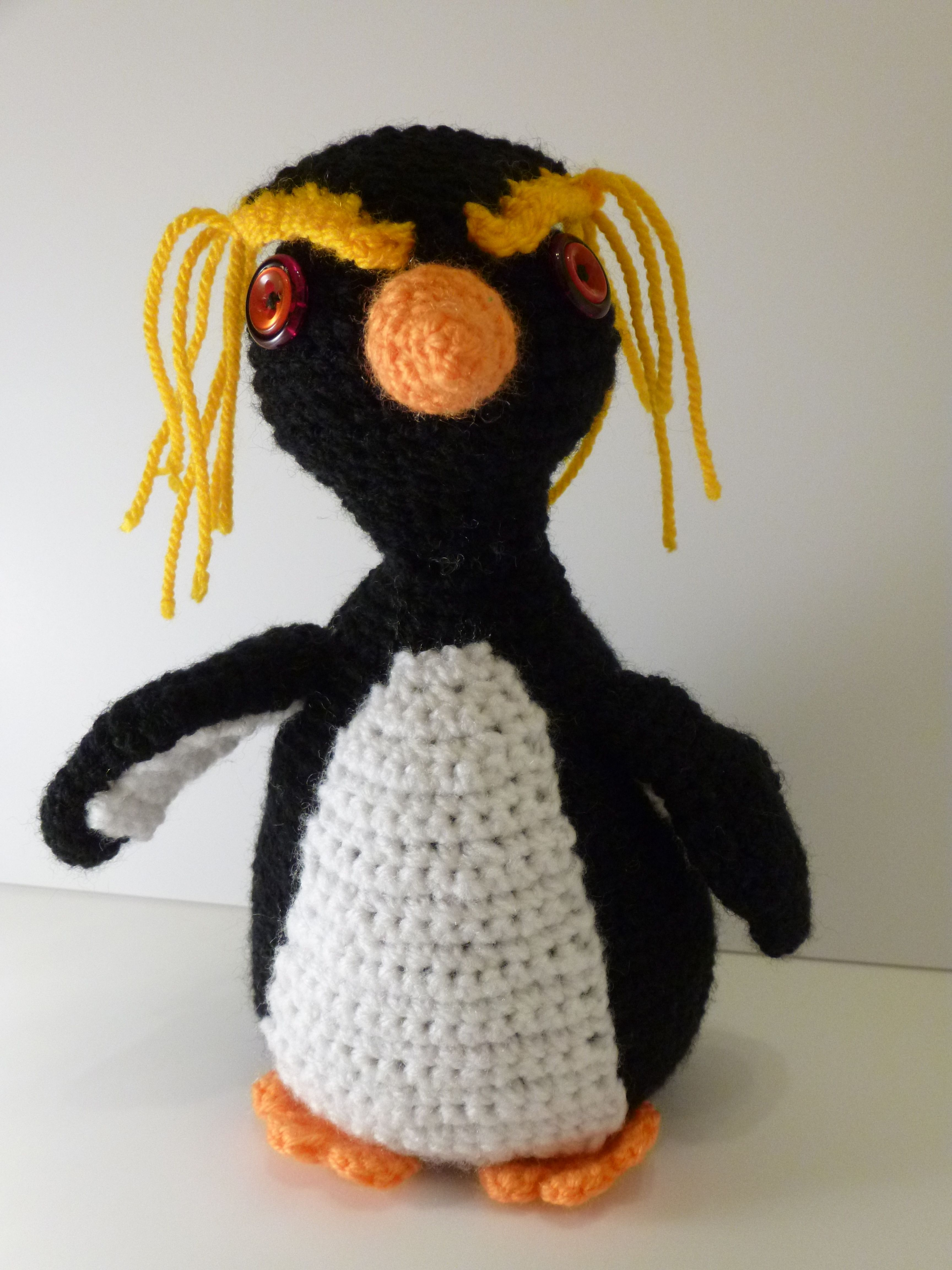 crochet rockhopper penguin | Crochet | Pinterest