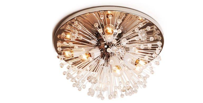 Parker Semi Flush Modern Flush Mount Ceiling Lamp Ceiling Lights
