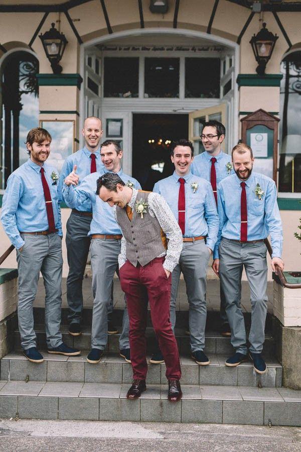 Delightful Irish Garden Wedding at Glengarriff Lodge ...