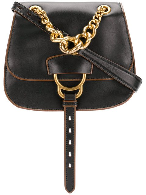MIU MIU chain handle saddle bag.  miumiu  bags  leather  hand bags ... b3ce9f0f6e