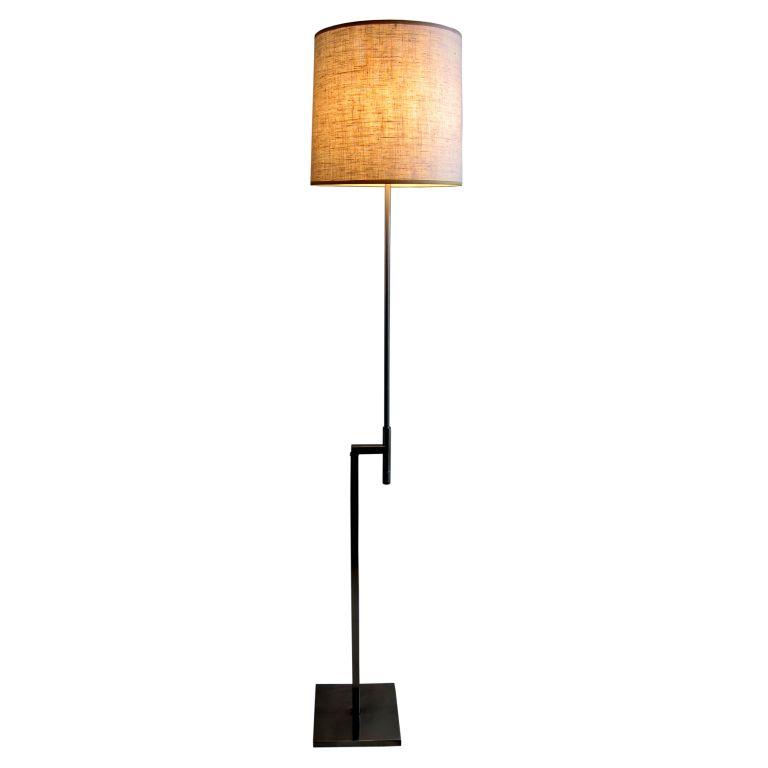 Laurel adjustable floor lamp usa 1960 adjustable floor lamp by laurel adjustable floor lamp usa 1960 adjustable floor lamp by laurel lighting in very good condition brushed chrome finish aloadofball Images