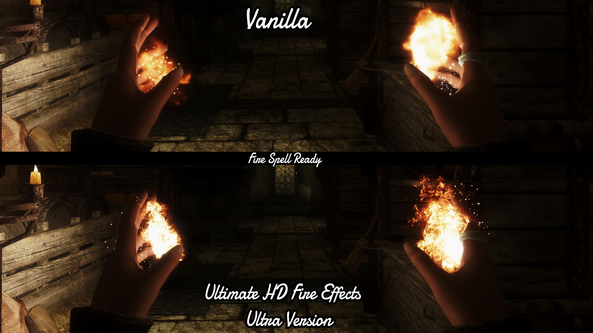 Ultimate HD Fire Effects At Skyrim Nexus