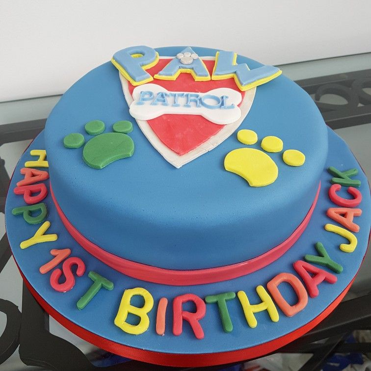 1st Birthday Cake Delivered This Week For Very Lucky Little Boy