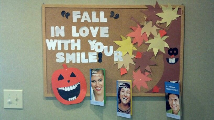 Quot Fall Quot In Love With Your Smile Bulletin Board Bulletin