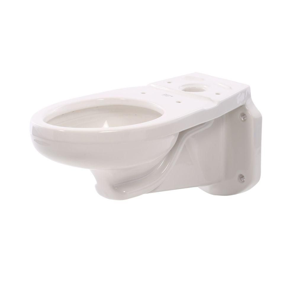 American Standard Glenwall Elongated Pressure Assist Toilet Bowl Only In White 3402 016 020 Toilet Bowl American Standard Toilet