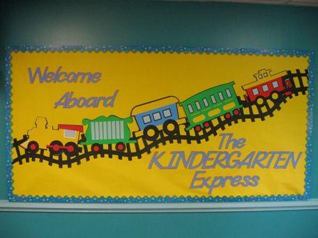 Back To School ~~Welcome Aboard The Kindergarten Express