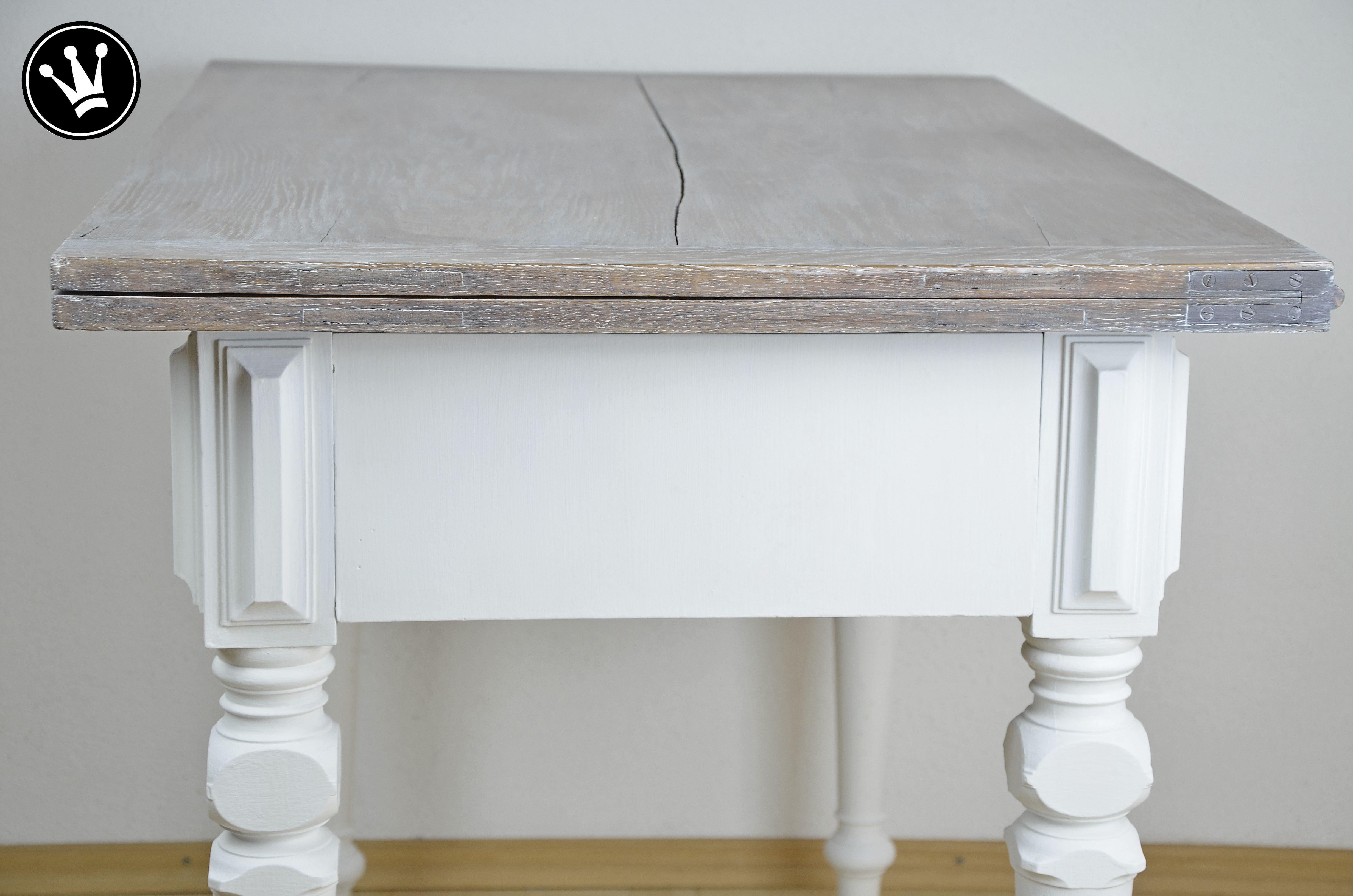 tisch mit kreidefarbe streichen ostseesuche com. Black Bedroom Furniture Sets. Home Design Ideas