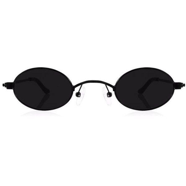 Doris Oval-frame Stainless Steel And Acetate Sunglasses - Black Roberi & Fraud hNPleZ