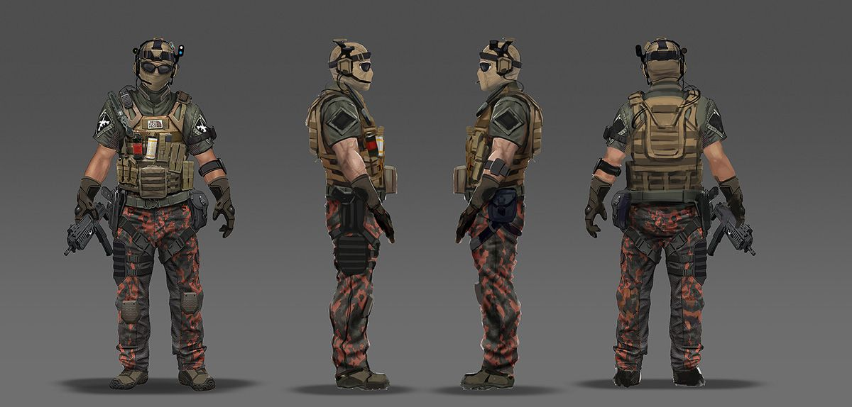 Character Design Los Angeles : Call of duty black ops concept art by eric chiang