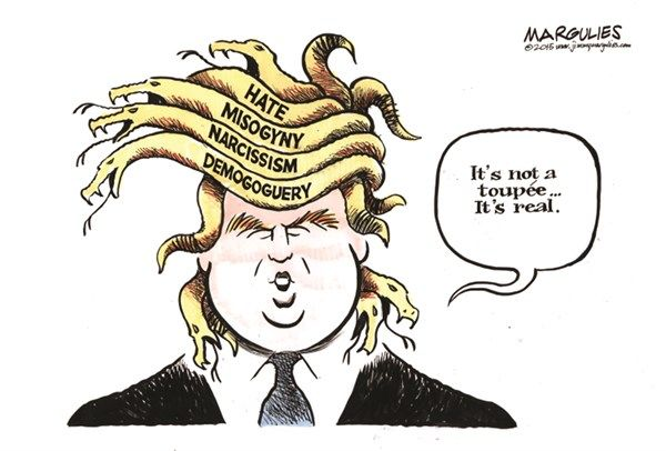 Image result for trump as president cartoons