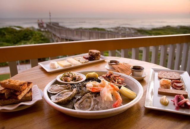 Fish Out Of Water Restaurant At Watercolor Next To Seaside Fl Santa Rosa Beach Fl Watercolor Inn And Resort Places To Eat Florida