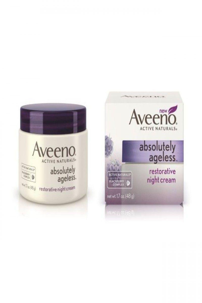 $ 10.50 | Aveeno Absolutely Ageless Restorative Night ...