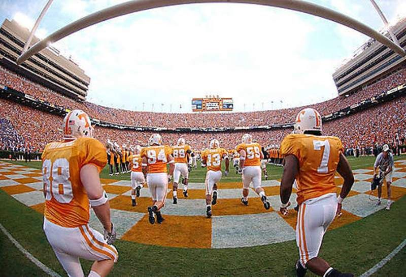 University of Tennessee Volunteer football!! There is