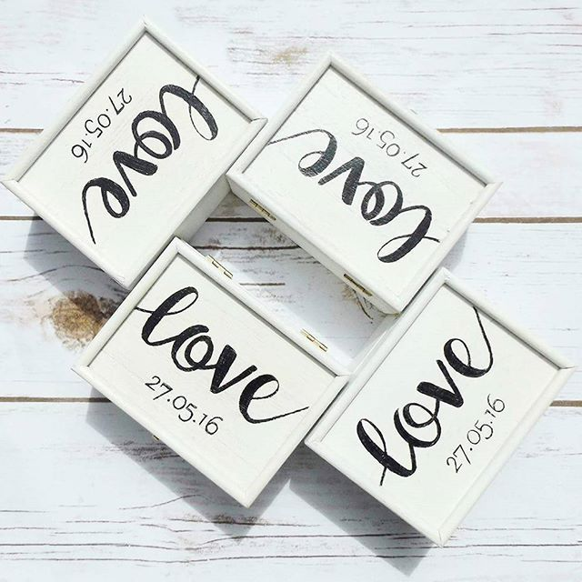 Keepsake Wedding Gifts: Personalised Wooden Keepsake Box