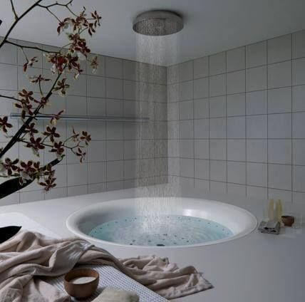 Shower Above Bath Amazing Bathrooms Shower Tub Rain Shower