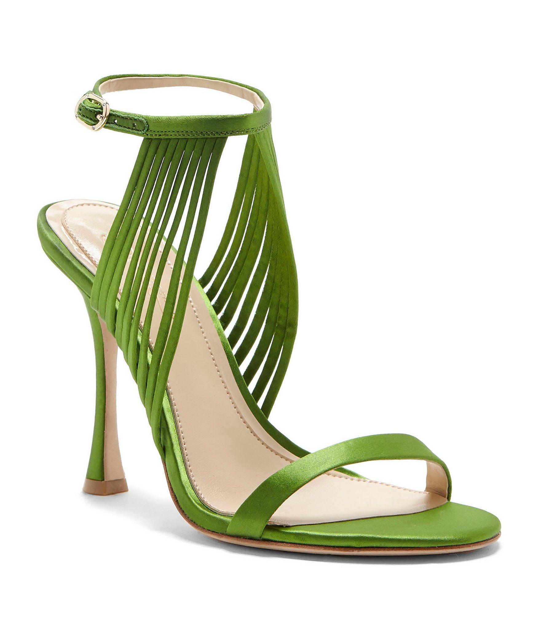 9b43c194d Imagine Vince Camuto Raim Satin Ankle Strap Dress Sandals #Dillards Dress  Sandals, Shoes Sandals