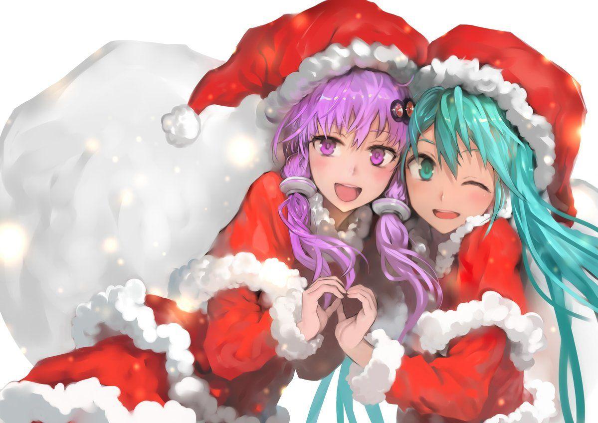 twitter ボーカロイド アニメの女の子 メリークリスマス