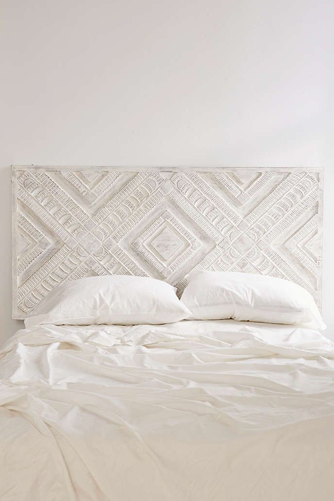 Amira Carved Wood Headboard Urban Outers