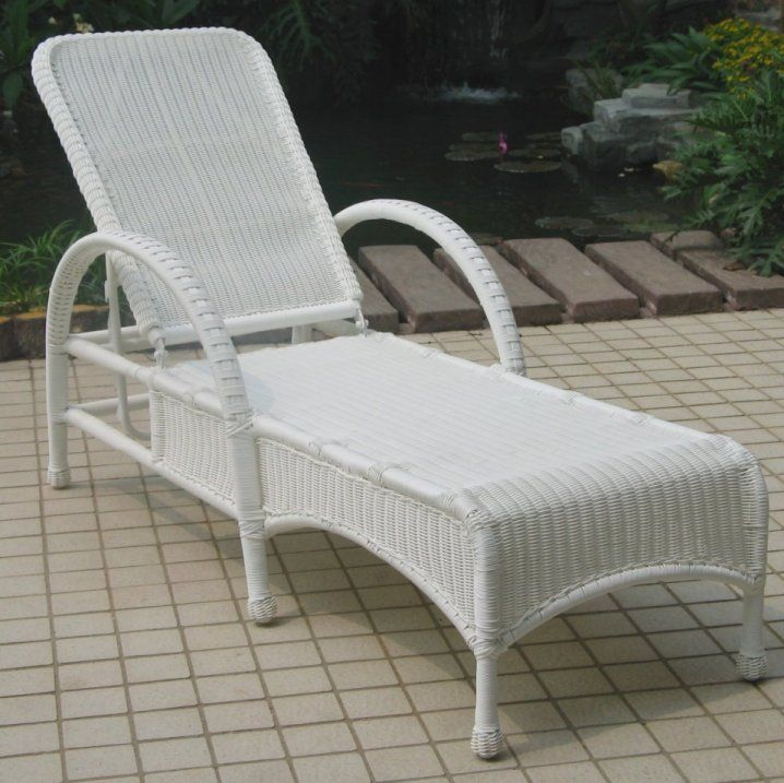 white wicker chaise lounge darby outdoor wicker collection