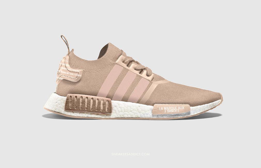 New adidas NMD Releases ✰A✰D✰I✰D✰A✰SJoggesko ✰A✰D✰I✰D✰A✰S Beige sneakers