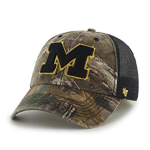 cheaper feeaa 8fddc Michigan Wolverines Camouflage Caps