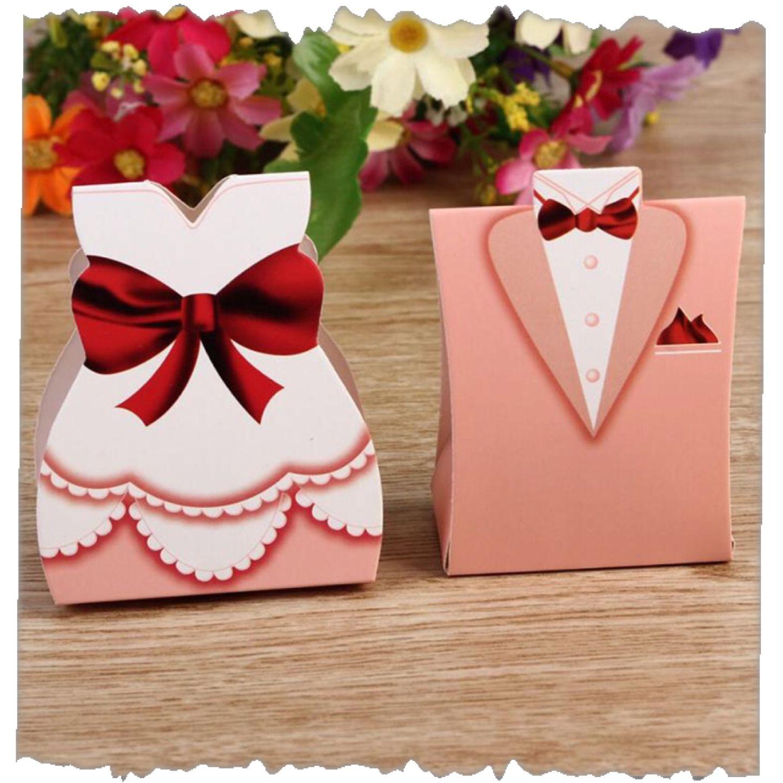 Gastgeschenk Schachtel Braut Und Brutigam 1 Euro Pro Paar