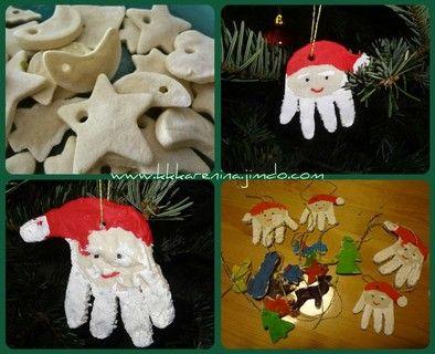 Weihnachten Salzteig Mit Kindern 1 3 Jahre