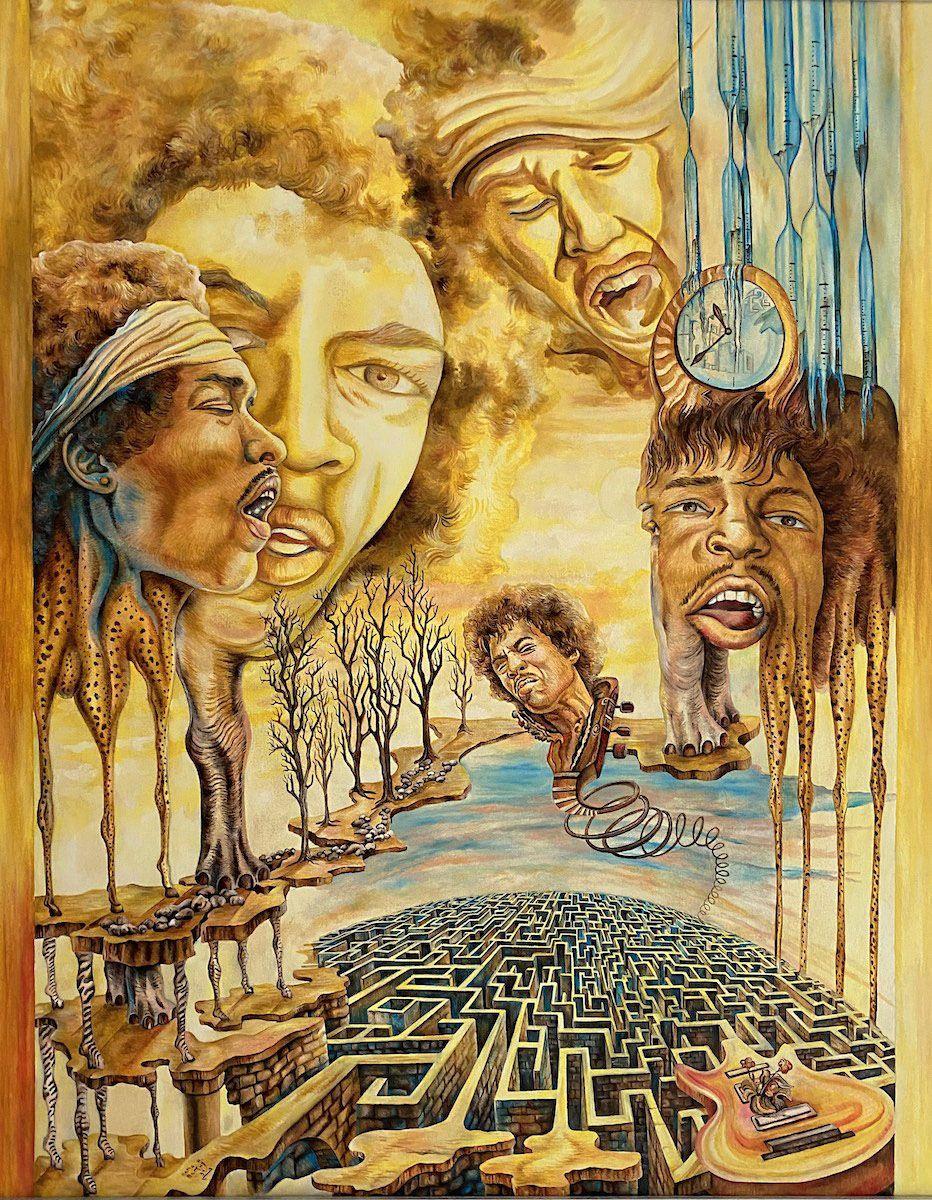 Heute vor 50 Jahren verstarb Jimi Hendrix. Sein Fokus war das Leben und nicht der Tod, und so lebte er auch nach dem Tod weiter. Mit Jimi Hendrix verbindet mich etwas ganz Besonderes. Ich wurde ger…