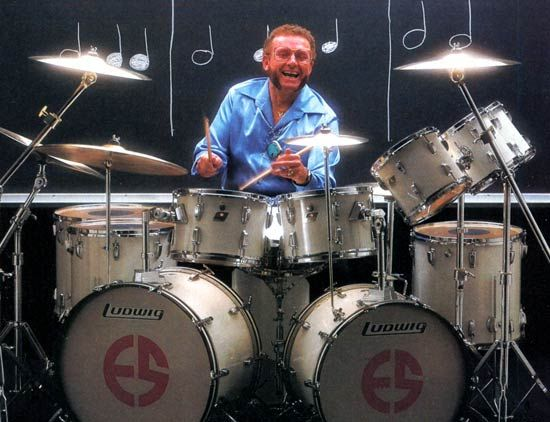 Ed Shaughnessy Great Jazz Drummer With Images Drummer Ludwig