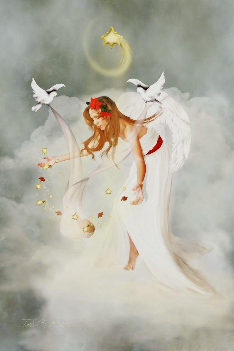 Merry Christmas Angel - HD Wallpapers Blog | HD Wallpapers ...