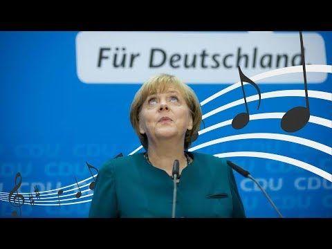 Angela Merkel völlig losgelöst CDU Bundestagswahl 2017