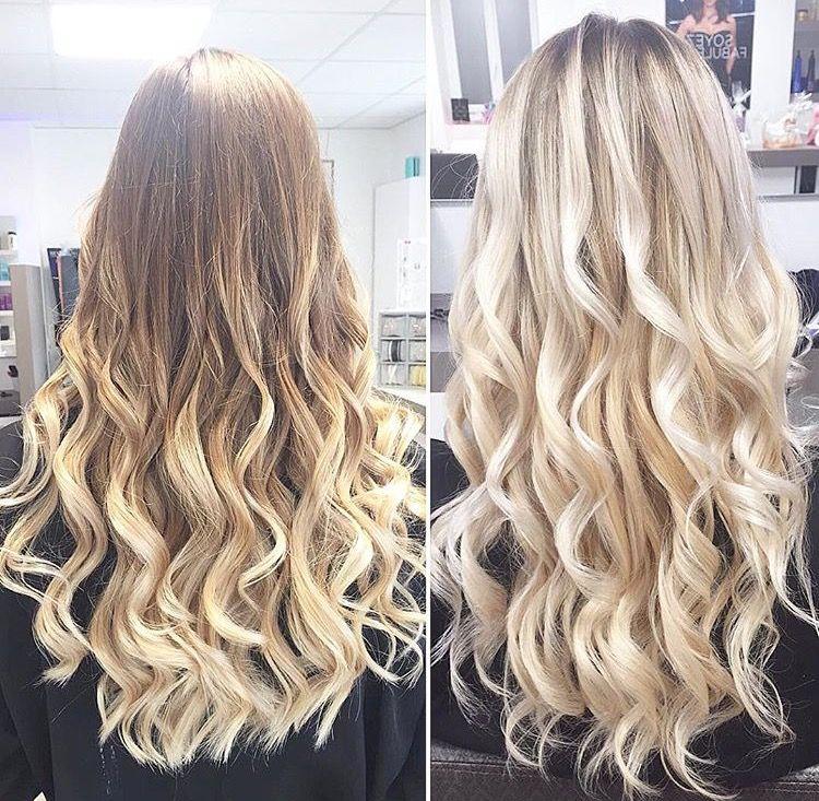 Exceptionnel Blond blanc sur cheveux long #longhair | Cheveux gris | Pinterest  LB23