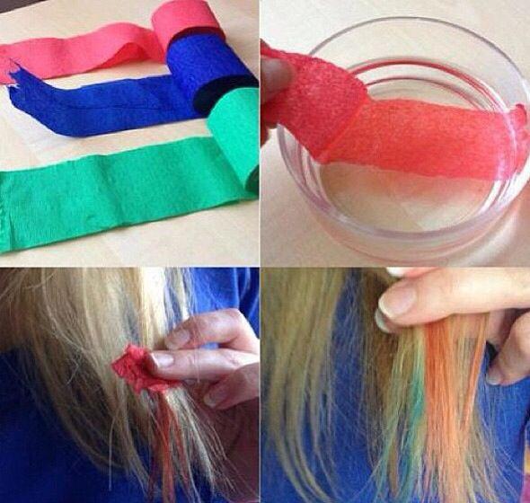 A Way To Dye Your Hair Easily Diy Haarfarbemittel Selbstgemachte Frisuren Diy Haarfarbe