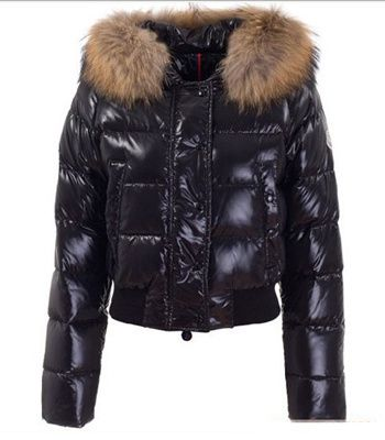 Buy Black Moncler Alpin Down Jacket for Women $199