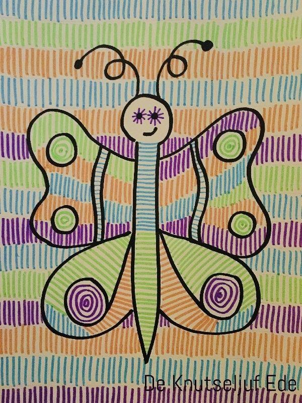 graphisme tekenen met figuren in kleurplaten